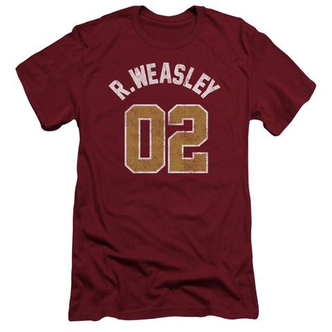 Harry Potter - Weasley Jersey Short Sleeve Adult 30/1