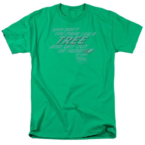 Back To The Future - Make Like A Tree Short Sleeve Adult 18/1