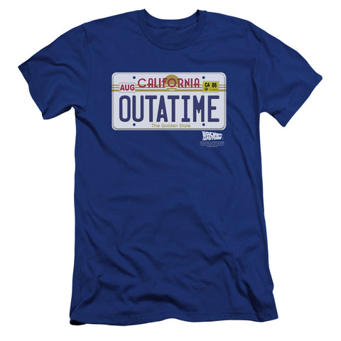 Back To The Future - Outatime Plate Premium Canvas Adult Slim Fit 30/1