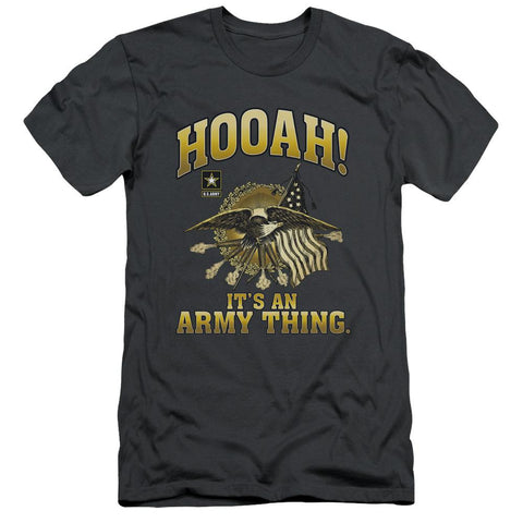 Army - Hooah Short Sleeve Adult 30/1 - Punchy
