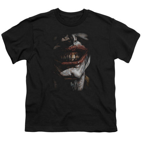 Batman - Smile Of Evil Short Sleeve Youth 18/1