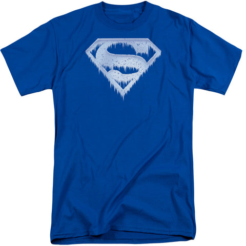 Superman - Ice And Snow Shield Short Sleeve Adult Tall