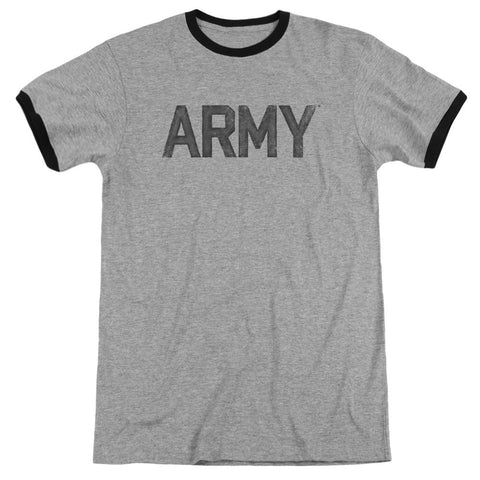 Army - Star Adult Ringer - Punchy