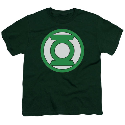 Green Lantern - Lantern Logo Short Sleeve Youth 18/1 - Punchy