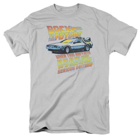 Back To The Future - 88 Mph Short Sleeve Adult 18/1
