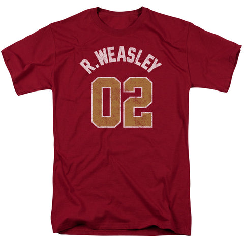 Harry Potter - Weasley Jersey Short Sleeve Adult 18/1
