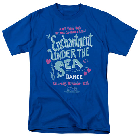 Back To The Future - Under The Sea Short Sleeve Adult 18/1