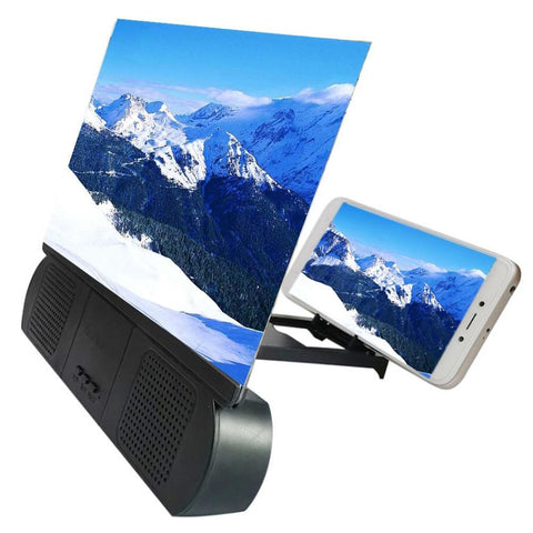 "12""  Portable Screen Magnifier with Bluetooth Speaker - Punchy"