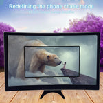 "12"" Portable Mobile Phone Curved HD Screen Amplifier - Punchy"