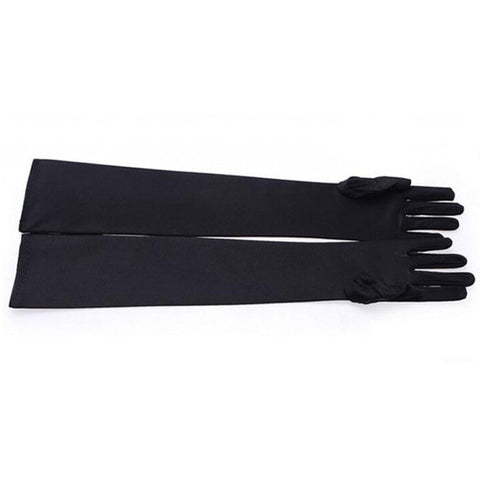 Women's Sexy Long Design Gloves Fashion Long Finger Gloves Warm Spring Winter Party Gloves