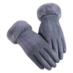 Women's Gloves In Autumn And Winter Driving Ski  Windproof Warm Plus Velvet Gloves Touch screen Women Gloves luvas guantes 2019