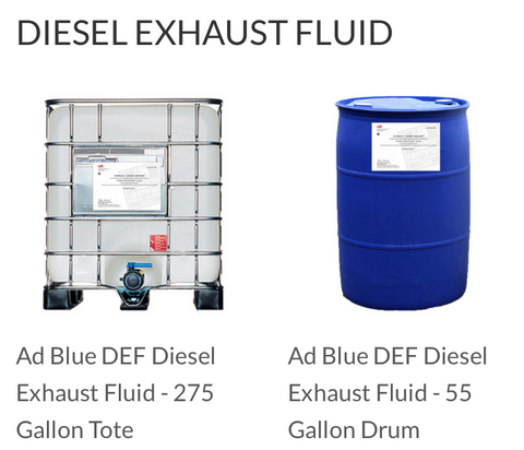 Def fluid for sale in 55 gal size price diesel for 55 gallon motor oil prices