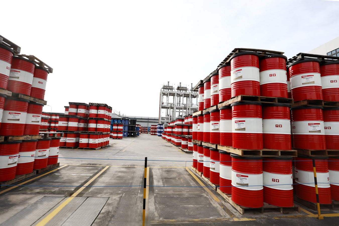 sinopec usa warehouses