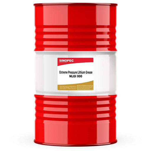 Sinopec (EP000) Semi-Fluid EP Multipurpose Lithium Grease, NLGI 000 - 400LB. (55 Gallon) Drum