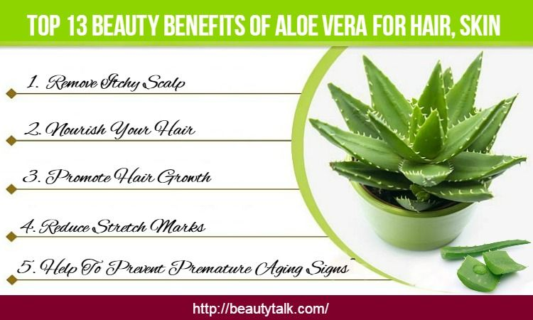 Amazing Benefits Of Aloe Vera For Skin, Body & Hair