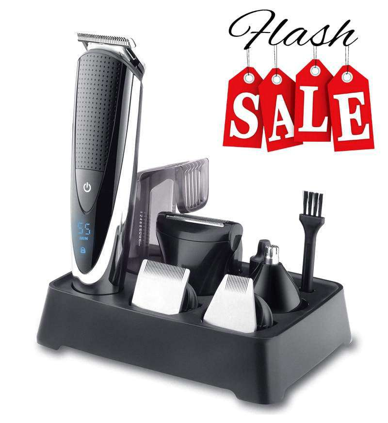 Professional Multi-functional Waterproof Electric USB Rechargeable Hair Clipper - HealthyHair.online