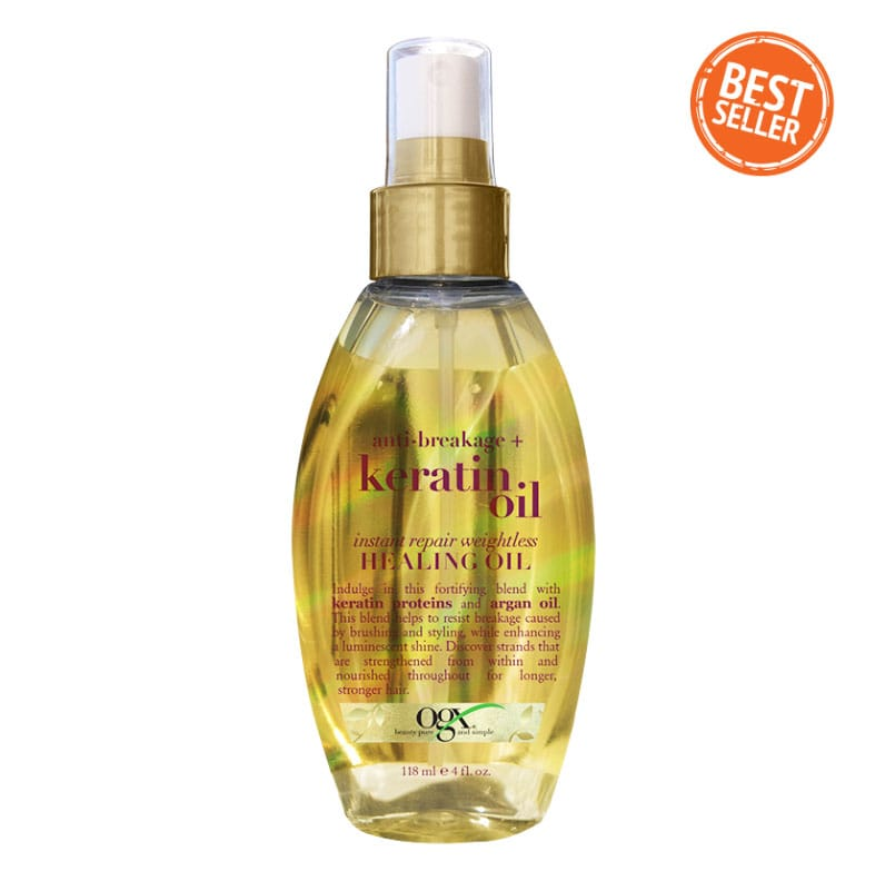 HealthyHair.online: Instant Hair Repair Healing Argan Oil