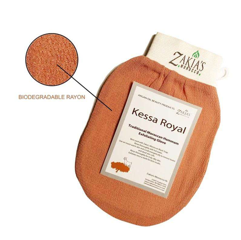Traditional Moroccan Kessa Exfoliating Massage Glove