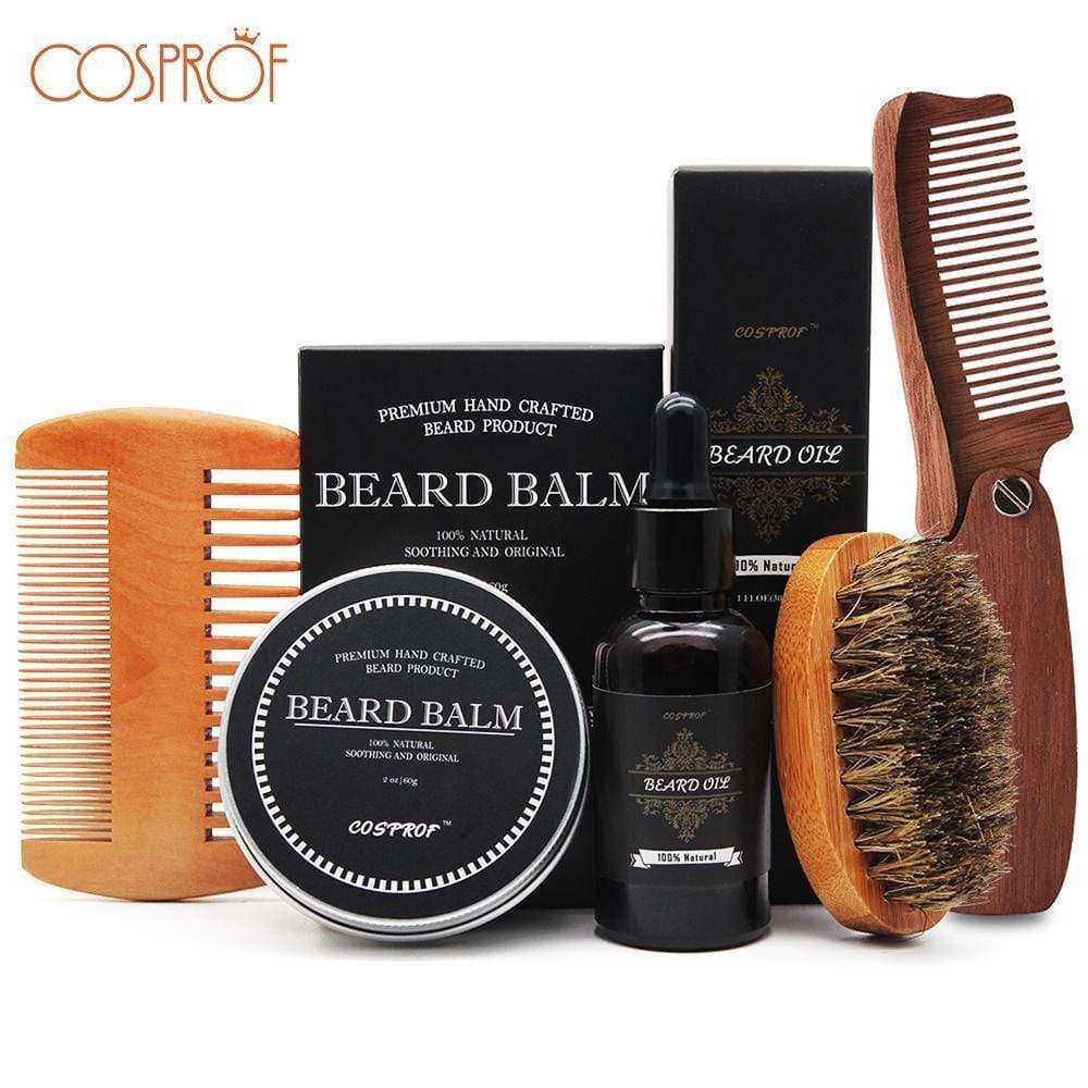 Premium Hand-Made Natural Beard Balm Conditioner Kit - HealthyHair.online