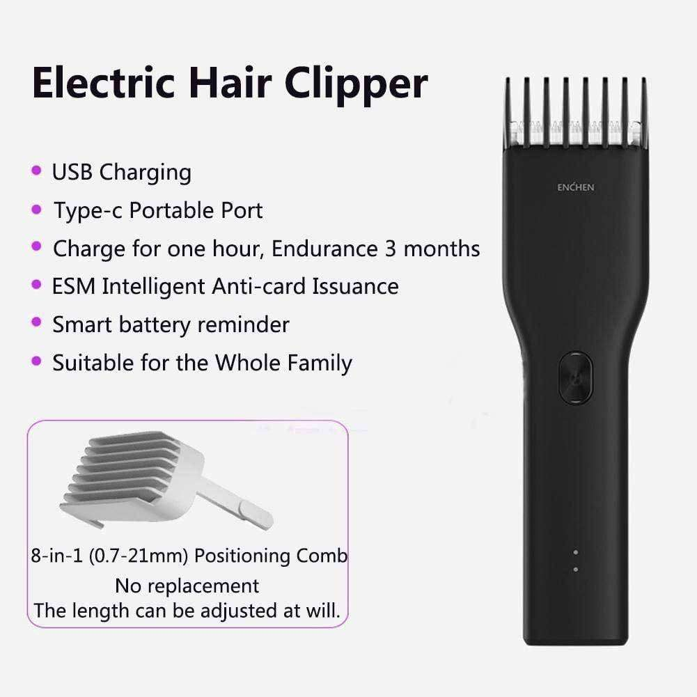 Pro Cordless USB Rechargeable Electric Hair Clipper - HealthyHair.online
