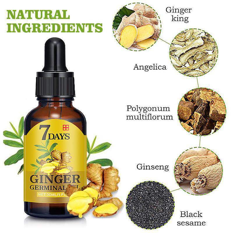 HealthyHair.online: Ginger Essence Oil for Fast Hair Growth