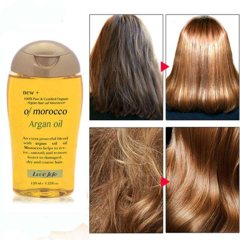 HealthyHair.online: Moroccan Organic Pure Argan Oil Hair Mask For Dry Hair