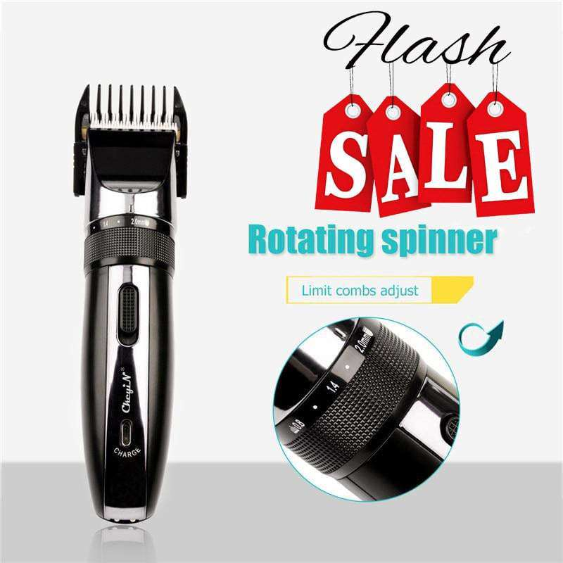 Electric Rechargeable Low-Noise Hair Clipper Trimmer - HealthyHair.online