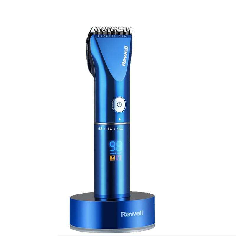 Professional Rechargeable Electric Hair Clipper Trimmer - Blue, Black - HealthyHair.online