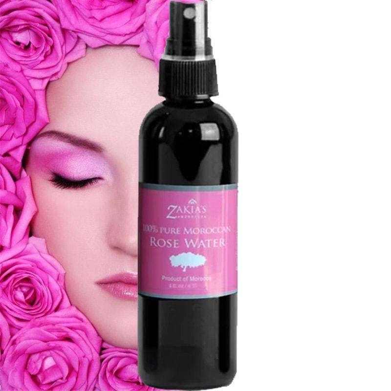 HealthyHair.online: Moroccan Rose Distilled Water Skin Body Hair Care