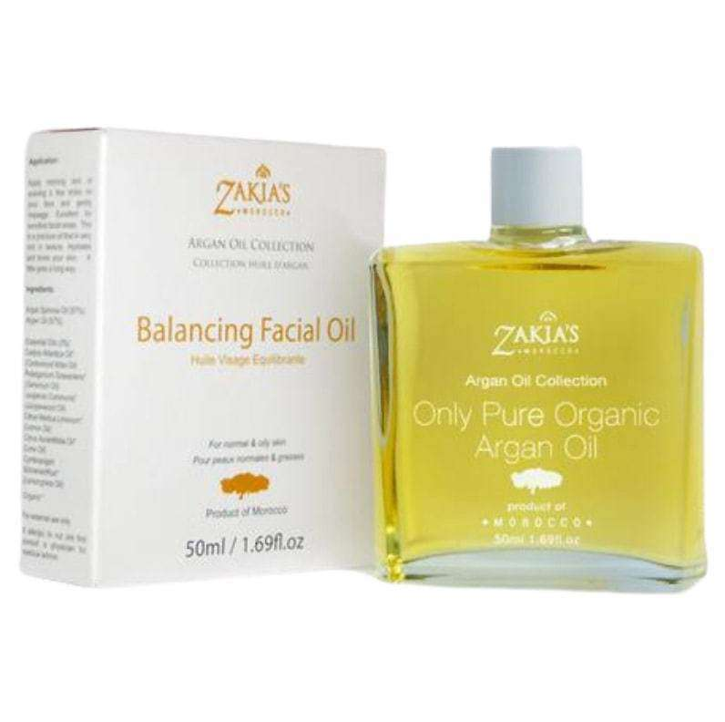 HealthyHair.online: Argan Oil Balancing Facial Skin Serum - 50 ml / 1.69 oz