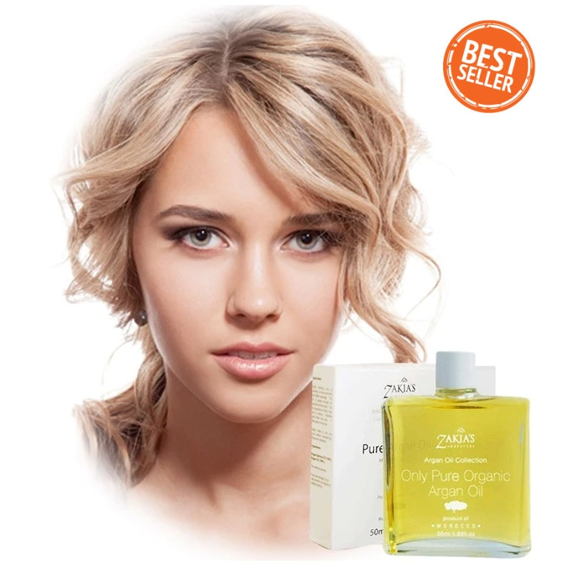 HealthyHair.online: Anti-Aging Argan Oil Skin Hair Mask - 50 ml / 1.69 oz