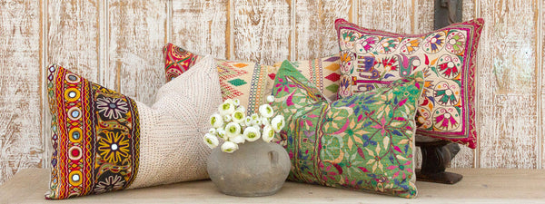 Antique Kutch Tribal Pillows