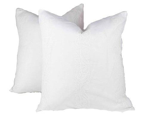 Lukhnow Embroidered Pillow