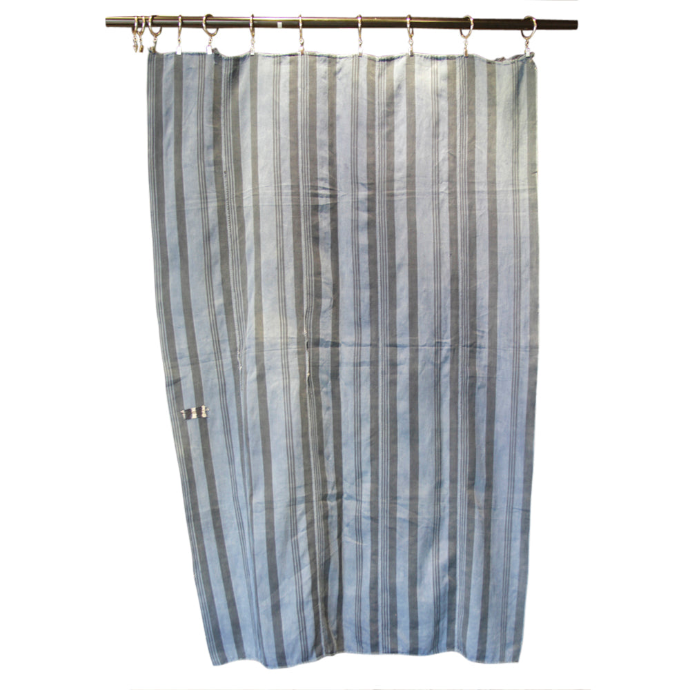 Antique Striped Handwoven Tapestry