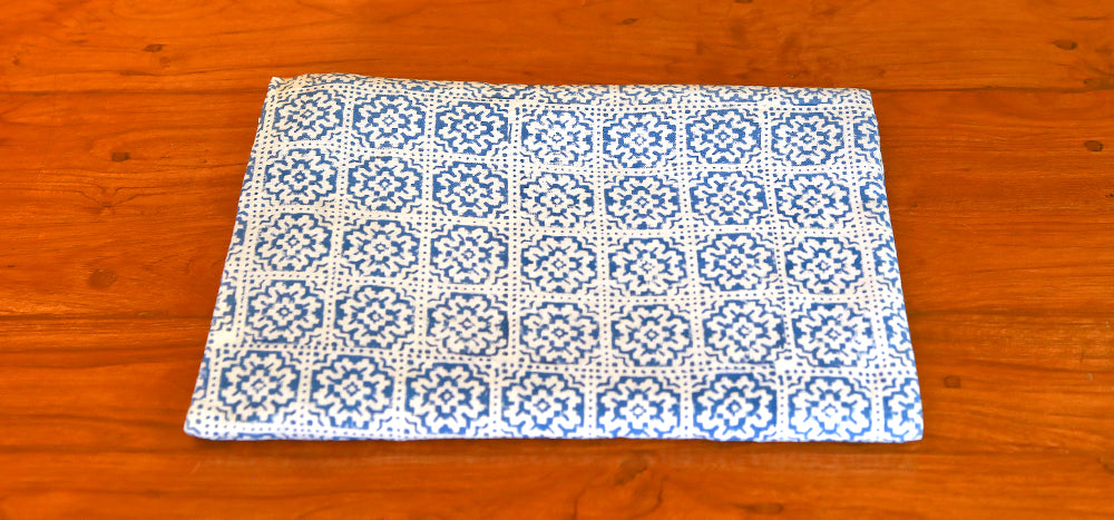 Atasi Flower Block Print Throw