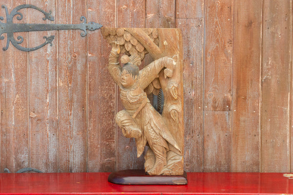 Early 19th Century Ping Yao Carved Architectural Corbel