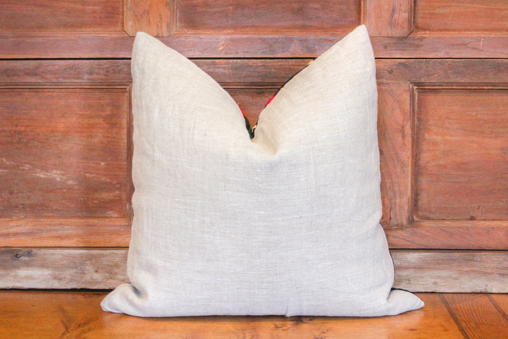 Daisy Suzani Square Pillow