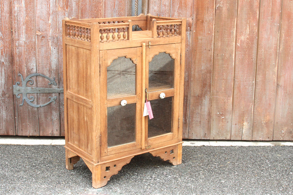 Antique British Colonial Altar Cabinet