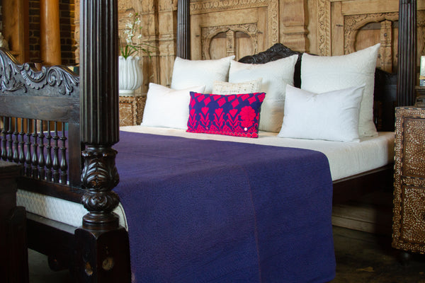 Violet Filanan Embroidered Bed Cover