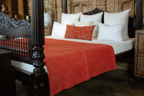 Fia Filanan Embroidered Bed Cover