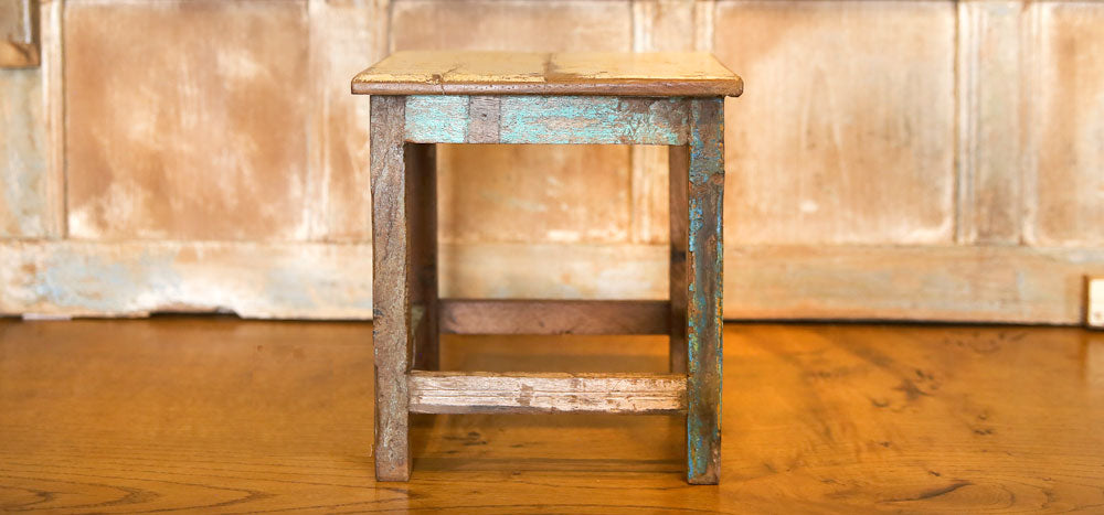 Small Reclaimed Teak Table