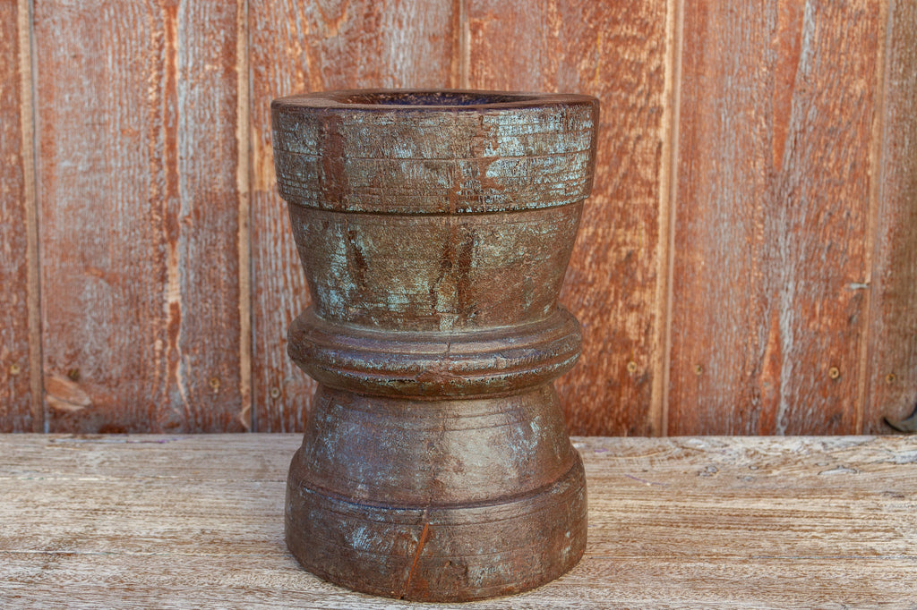 Antique Primitive Rice Grinder