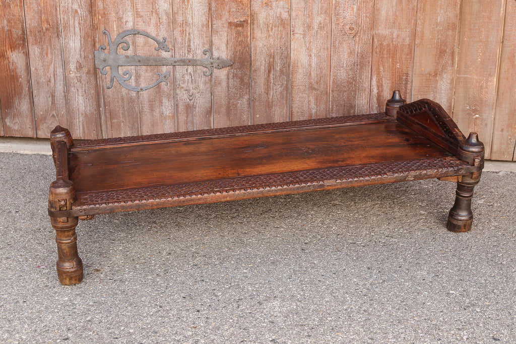 Antique Swat Valley Bed