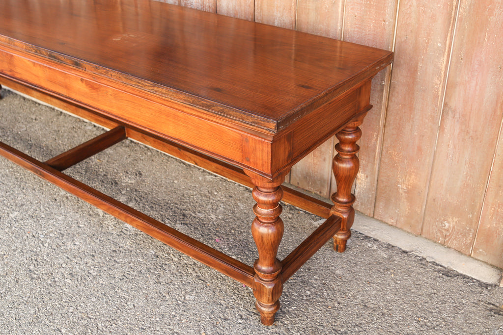 Continental Refectory Console Table