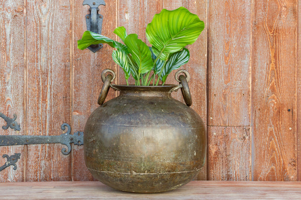 Antique Tribal Brass Pot
