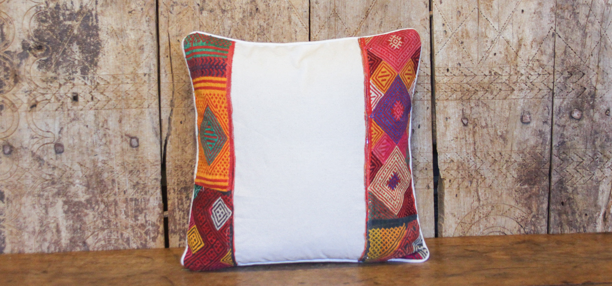 Motley Tribal Lace Pillow