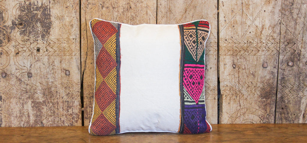 Desert Tribal Lace Pillow