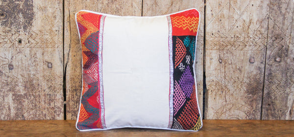 Geometric Tribal Lace Pillow