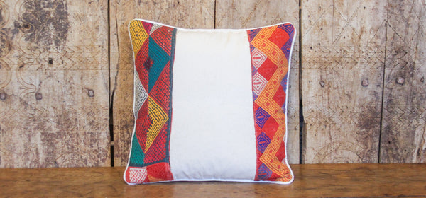 Charming Tribal Lace Pillow