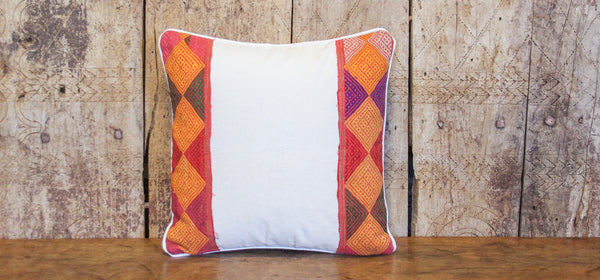 Diamond Tribal Lace Pillow
